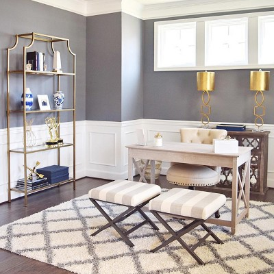 Glamorous Feminine Home Office Collection - Ameriwood Home