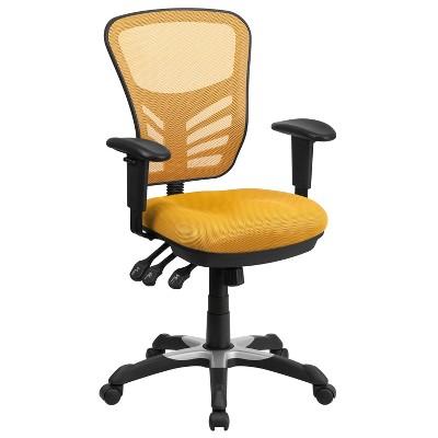 Mid Back Mesh Multifunction Executive Swivel Ergonomic Office Chair - Riverstone Furniture