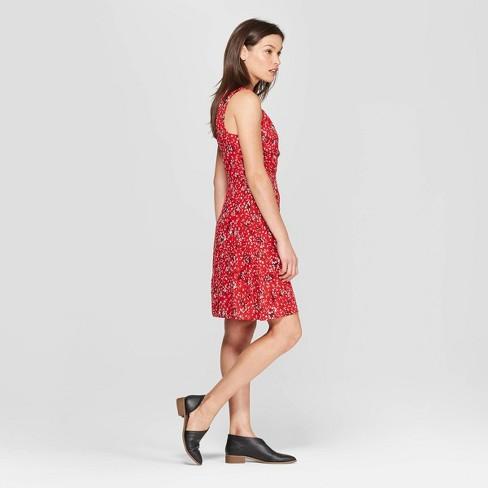 af760e3d0db Women s Floral Print V-Neck Wrap Dress - Universal Thread™. Shop all Universal  Thread