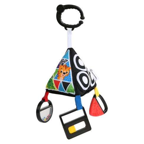 Baby Einstein Playful Pyramid High Contrast Toy - image 1 of 3
