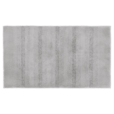 Garland Essence Nylon Washable Bath Rug - Platinum Gray (24 x40 )
