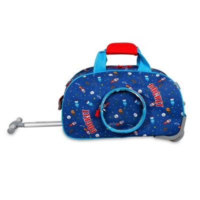 J World Space Kids' Rolling Duffel Bag