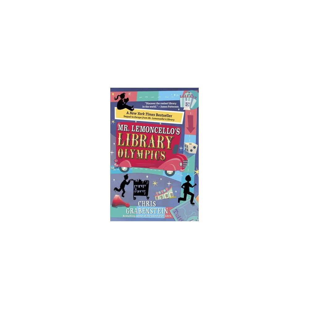 Mr. Lemoncello's Library Olympics (Reprint) (Paperback) (Chris Grabenstein)