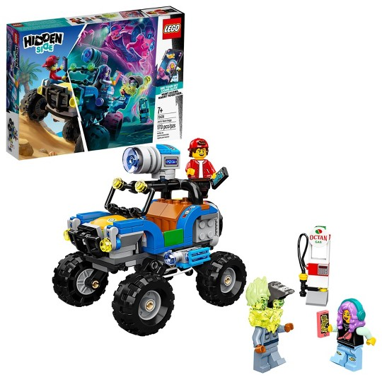LEGO Hidden Side Jack's Beach Buggy 70428 Amazing AR Experience image number null