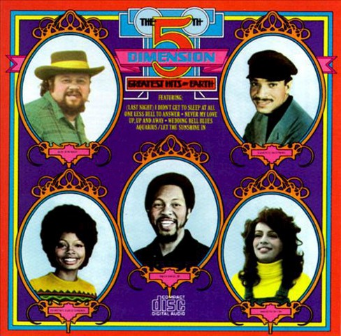 Fifth dimension - Greatest hits on earth (CD) - image 1 of 1