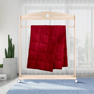 Puredown Packable Down Throw Blanket