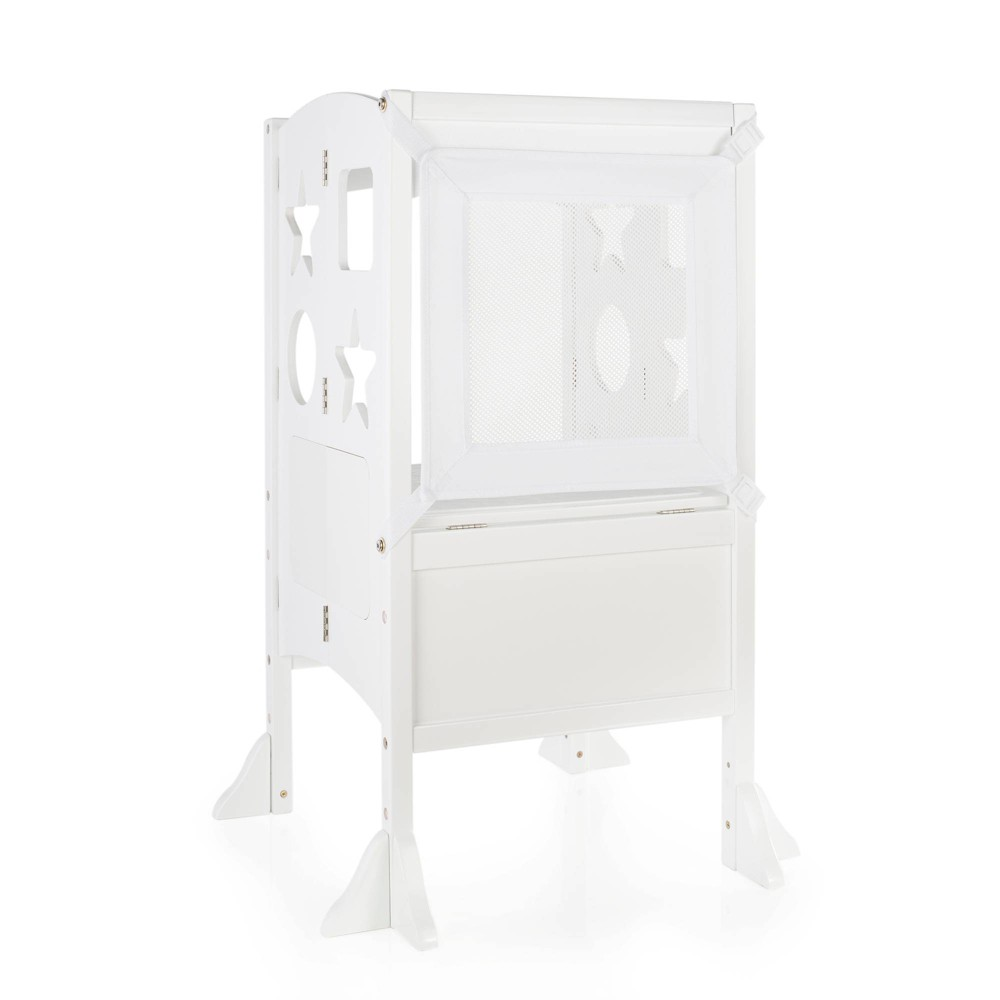 Image of Kids Kitchen Helper - White - Guidecra