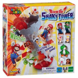 Epoch Games Super Mario Blow Up! Shaky Tower Game
