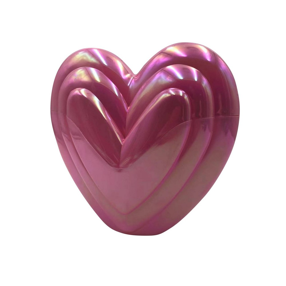 "Image of ""8.5"""" Valentine's Fillable Heart Pink - Spritz"""