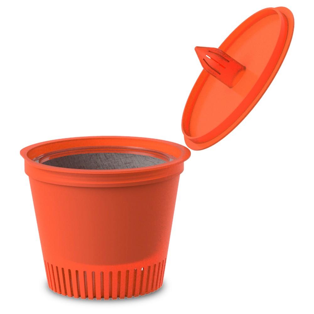 Mind Reader Whiz Disposable Single Serve Coffee Pod 30 Pack - Orange, Mesmerizing Orange