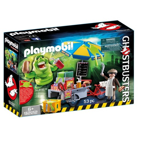Playmobil Ghostbusters Slimer with Hot Dog Stand - image 1 of 1