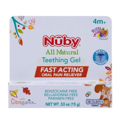 Dr. Talbot's™ All Natural Teething Gel with Citroganix™ - 0.53oz