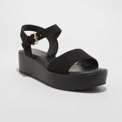 Women's Ivy Platform Sandals - A New Day™