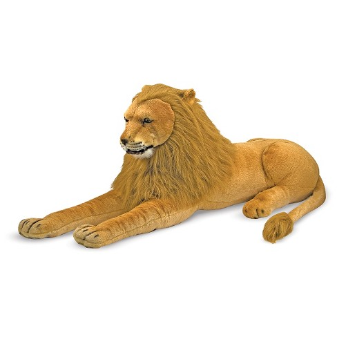 Melissa Doug Giant Lion Lifelike Stuffed Animal Over 6 Feet