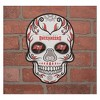 NFL Tampa Bay Buccaneers Small Outdoor Skull Decal - image 2 of 2