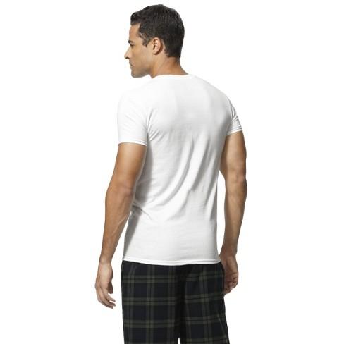 d234a57d Hanes® Premium Men's 4pk Slim Fit Crew-Neck Tees : Target