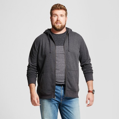 Men's Tall Hooded Fleece Sweatshirt - Goodfellow & Co™ - image 1 of 3