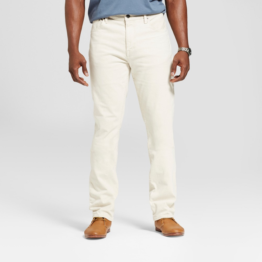 Men's Tall Slim Fit Jeans - Goodfellow & Co White 40x36