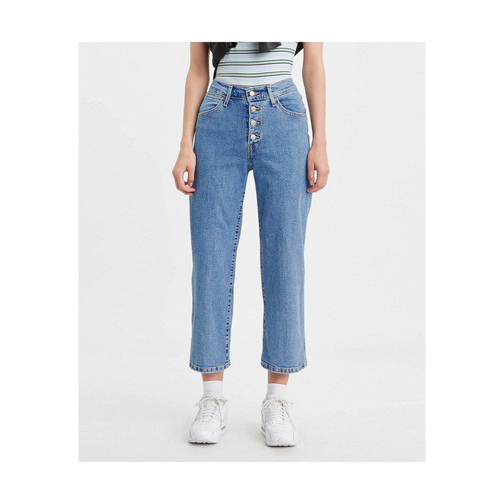 Levi 39 S 174 Women 39 S Ultra High Rise Wide Leg Cropped Jeans Fyi 29