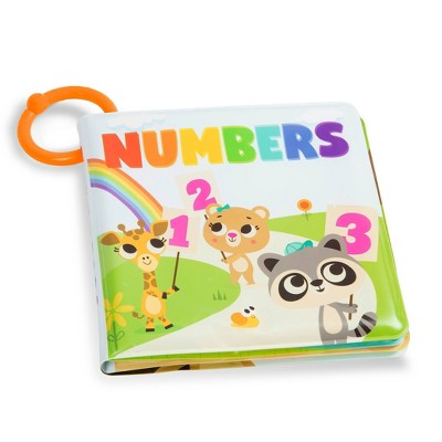 Land of B. Numbers Bath Book Tub Time Books