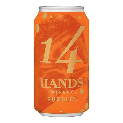 14 Hands Bubbles Sparkling White Wine - 375ml Can