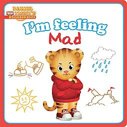 I'm Feeling Mad - (Daniel Tiger's Neighborhood) by  Natalie Shaw (Board Book)