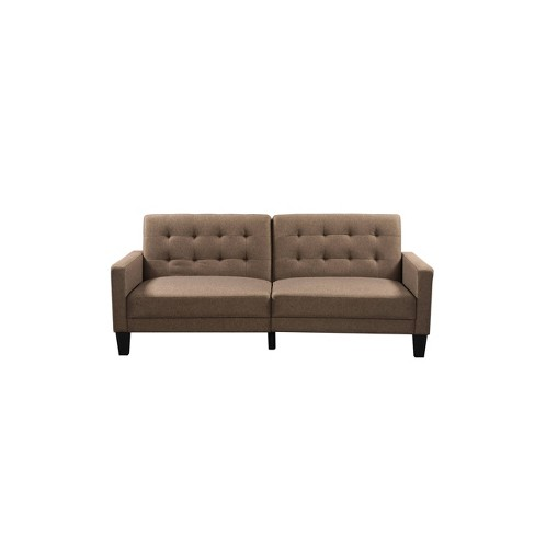 Serta Oakland Convertible Sofa Sand - Lifestyle Solutions - image 1 of 4