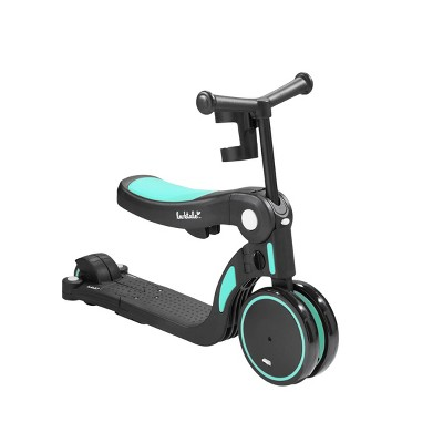 "Larktale Scoobi 7"" 5 in 1 Kids' Specialty Cycle - Teal Green"