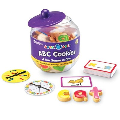Learning Resources Goodie Games ABC Cookies, Ages 4+