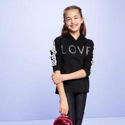 Girls' 'Love' Sweatshirt - More Than Magic™ Black