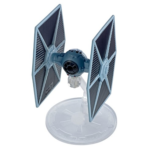 Hot Wheels Star Wars: The Last Jedi - TIE Fighter - Blue Starship Vehicle - image 1 of 2