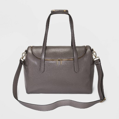 Zip Closure Carry On Weekender Bag - A New Day™ Gray