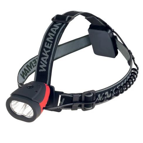 Wakeman Water Resistant LED Headlamp with 160 Lumen - Black - image 1 of 4