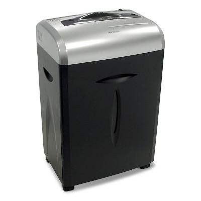 Aurora 12 Sheet Paper/CD Shredder with Pull-Out basket Black/Gray - AU1217XB