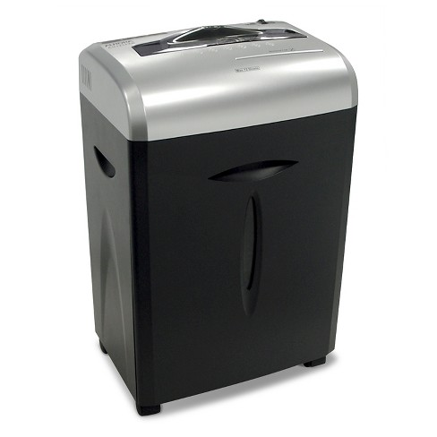 Aurora 12 Sheet Paper/CD Shredder with Pull-Out basket Black/Gray - AU1217XB - image 1 of 4