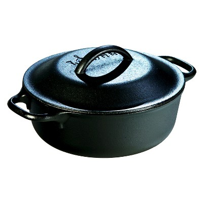 Lodge Cast Iron Serving Pot 2 Quart