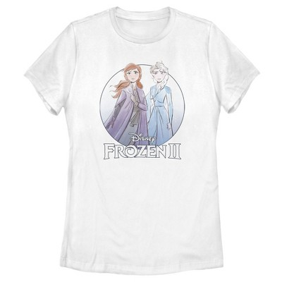 Women's Frozen 2 Sister Circle Logo T-Shirt