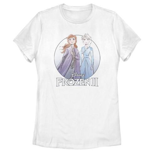 Women's Frozen 2 Sister Circle Logo T-Shirt - image 1 of 3