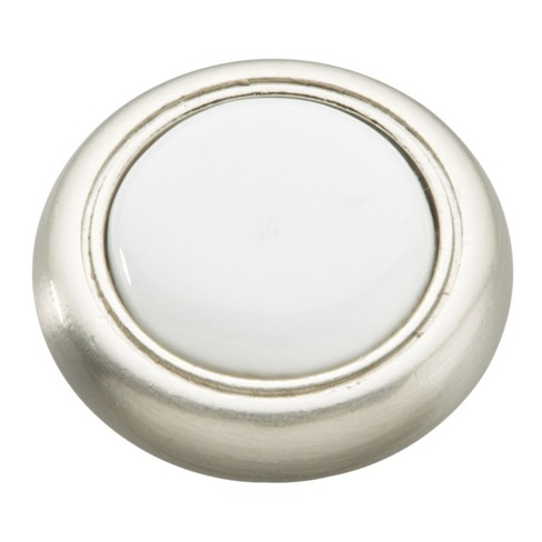 "Hickory Hardware P710 Eclipse 1-1/4"" Mushroom Cabinet Knob - image 1 of 1"