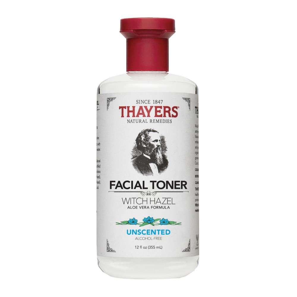 Thayers Witch Hazel Alcohol Free Unscented Toner - 12oz