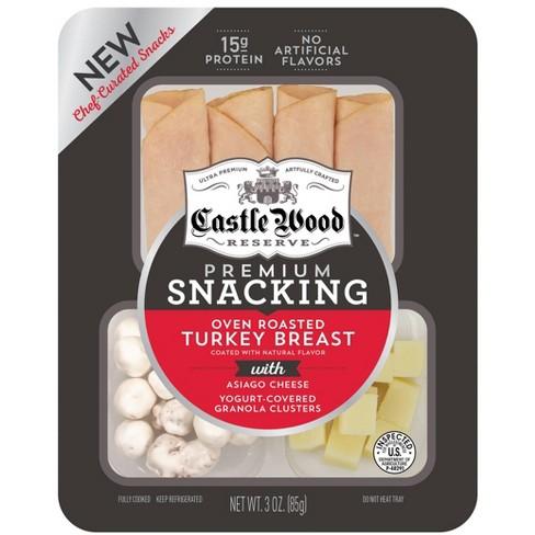 Castle Wood Reserve Oven Roasted Turkey Snack - 3oz - image 1 of 1