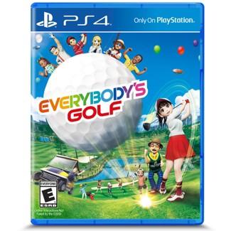 Everybodys Golf PlayStation 4