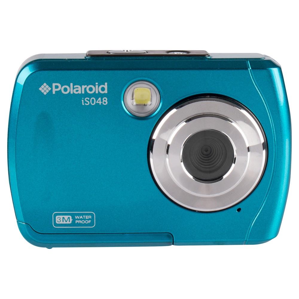 Polaroid 16mp Waterproof Digital Camera Teal Is048 Teal