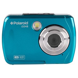 Polaroid 16MP Waterproof Digital Camera - Teal (IS048-Teal)