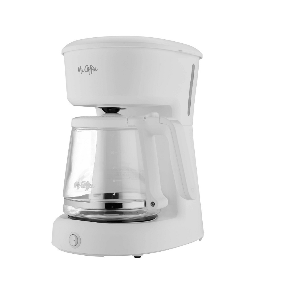 Image of Mr. Coffee 12-Cup Switch Coffee Maker - White