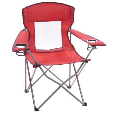 Mesh Captain Chair Red - Embark™