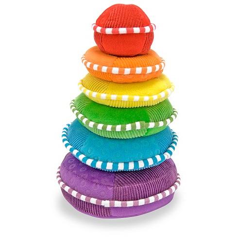 Melissa & Doug® Soft Rainbow Stacker Educational Toy - image 1 of 3