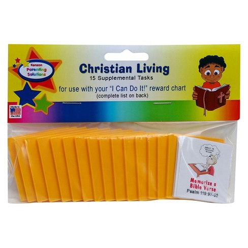 "Kenson Parenting Solutions Supplemental Christian Pack for the ""I Can Do It!"" Charts - image 1 of 2"