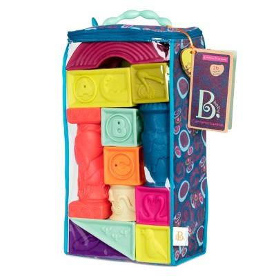 Baby B. Elemenosqueeze Soft Blocks