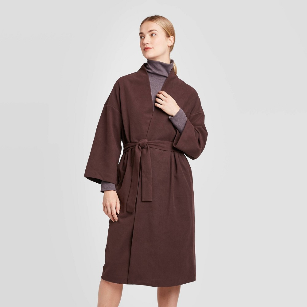 Women's Long Sleeve Wrap Coat - Prologue Burgundy XXL, Women's, Brown was $47.99 now $33.59 (30.0% off)